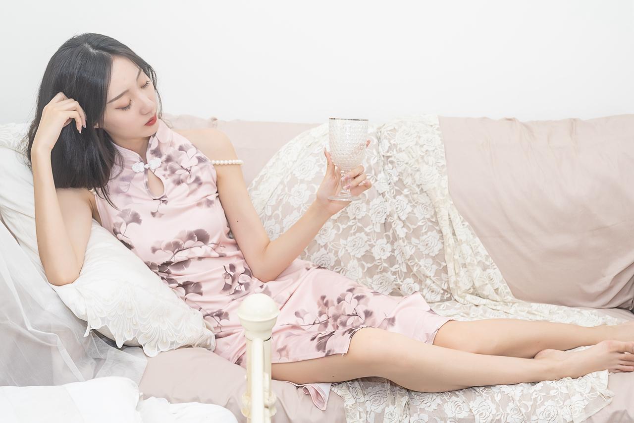 2021.9.22索尼@俱乐部室内旗袍人像--模特【三】